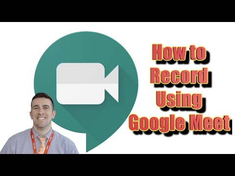 How To Record A Google Meet Session And Record Your Screen - Screen Capture
