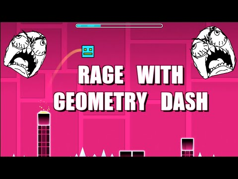 RAGE with Geometry Dash 1080P 60FPS Gifts with Saint Frerotte