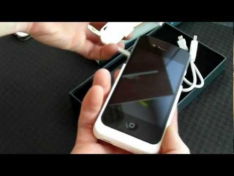 Чехол-аккумулятор HOCO для iPhone 4(4S) 1900 mAh. Видео-обзор