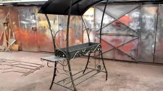 Хороший мангал для дачи для сада с крышей купить недорого(, 2016-10-14T12:15:16.000Z)