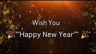 Happy New Year Spacial status by Nisha Rai Creation