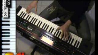 Roland Juno G Demonstration By S4K ( Keyboard Solo Space4keys Demo )