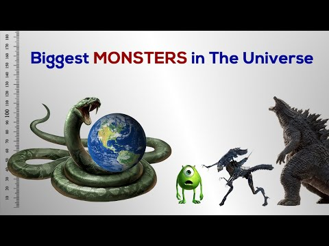 Biggest Monsters In The Universe