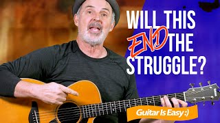 Easy F Chord oฑ Guitar | No Barre Needed