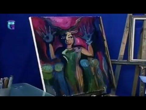 Уроки рисования (№ 145). Рисуем картину из сказки и легенды Идол
