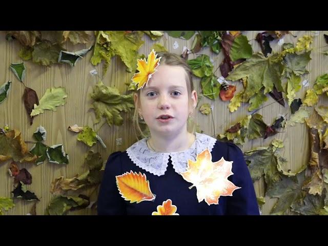 Изображение предпросмотра прочтения – АнастасияТерентьева читает произведение «Листопад (Осенняя поэма)» И.А.Бунина