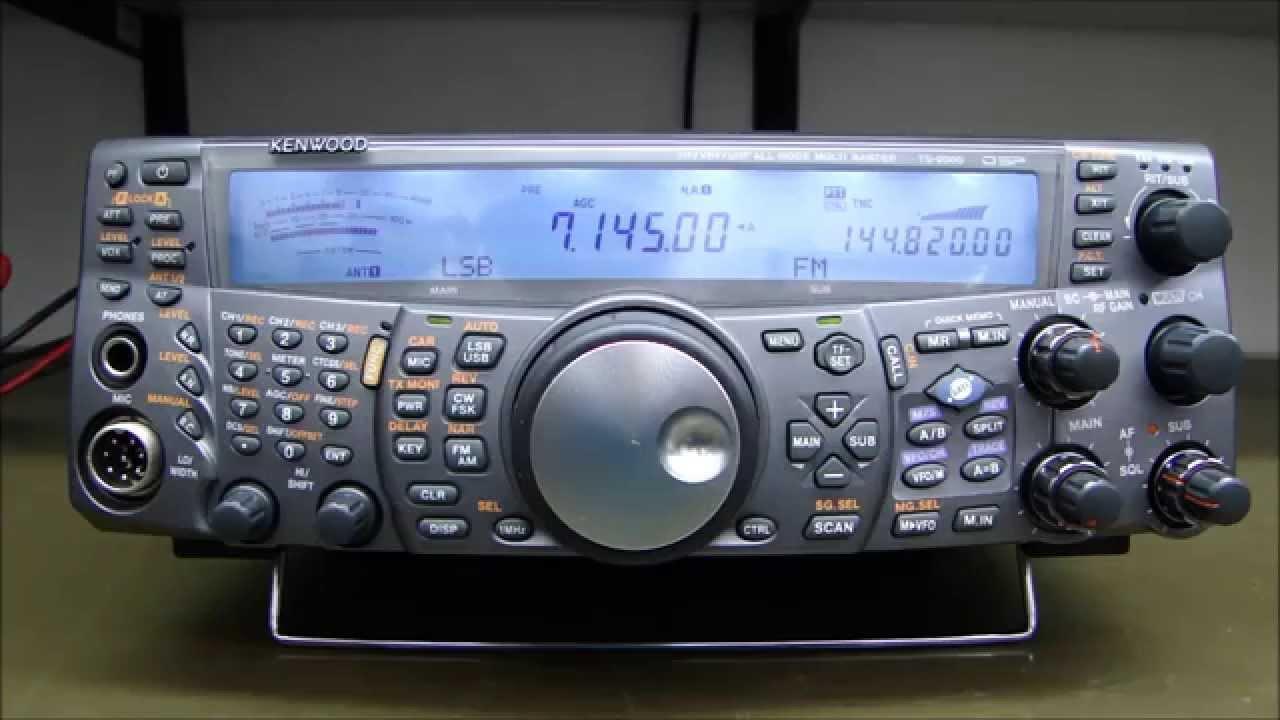 ALPHA TELECOM: KENWOOD TS-2000X MEGA REVISÃO, KIT BLUE e ALINHAMENTO COMPLETO