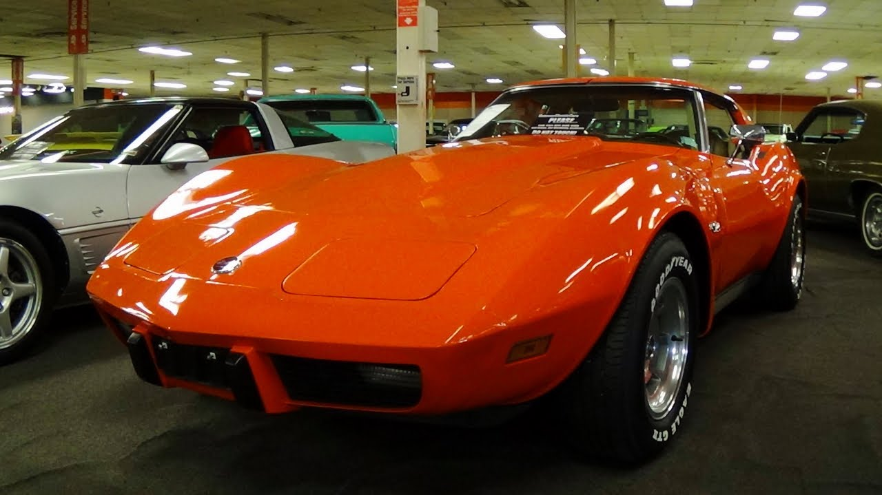 1976 Chevrolet Corvette L48 350 T tops - YouTube