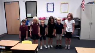 MHA 2nd Grade Molecule Dance