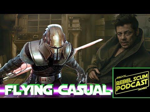 Is Benicio Del Toro's DJ a Secret Sith Focused on Killing Snoke? Flying Casual