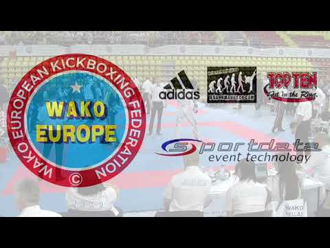 Croatia v Hungary Junior Team Event WAKO European Championships 2017