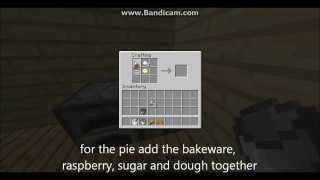 Pams harvestcraft mod recipes - raspberry pie