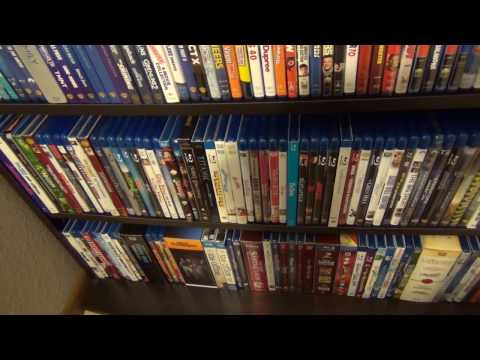 My Entire Movie Collection 2017 Update: 4K, Blu-Ray, DVD, VHS, Video Games