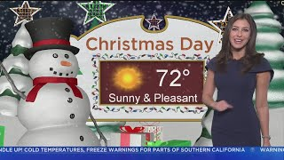 Danielle Gersh's Weather Forecast (Dec. 22)