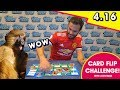 JUAN MATA TAKES ON THE CARD FLIP CHALLENGE!
