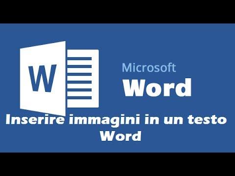 Tutorial inserimento immagine in un testo Word 2010
