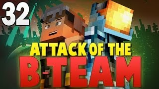 Minecraft Attack of the B-Team #32 | TROLLING MITCH AND JEROME! - Minecraft Mod Pack Survival