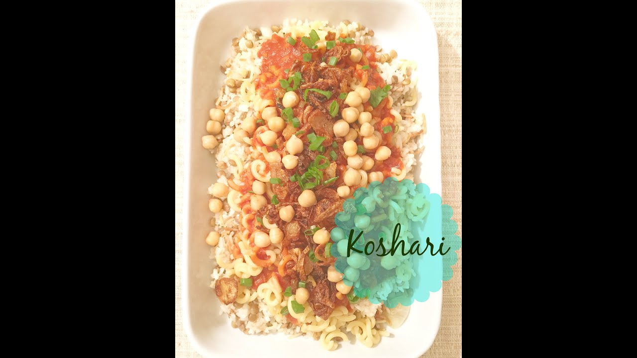 Koshari vegetarianvegan egyptian dish kaiser in the koshari vegetarianvegan egyptian dish kaiser in the kitchen forumfinder Choice Image