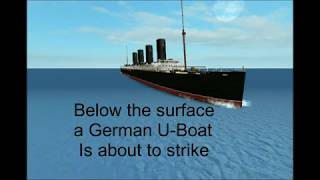 Lusitania Sinking Cinematic [Roblox]