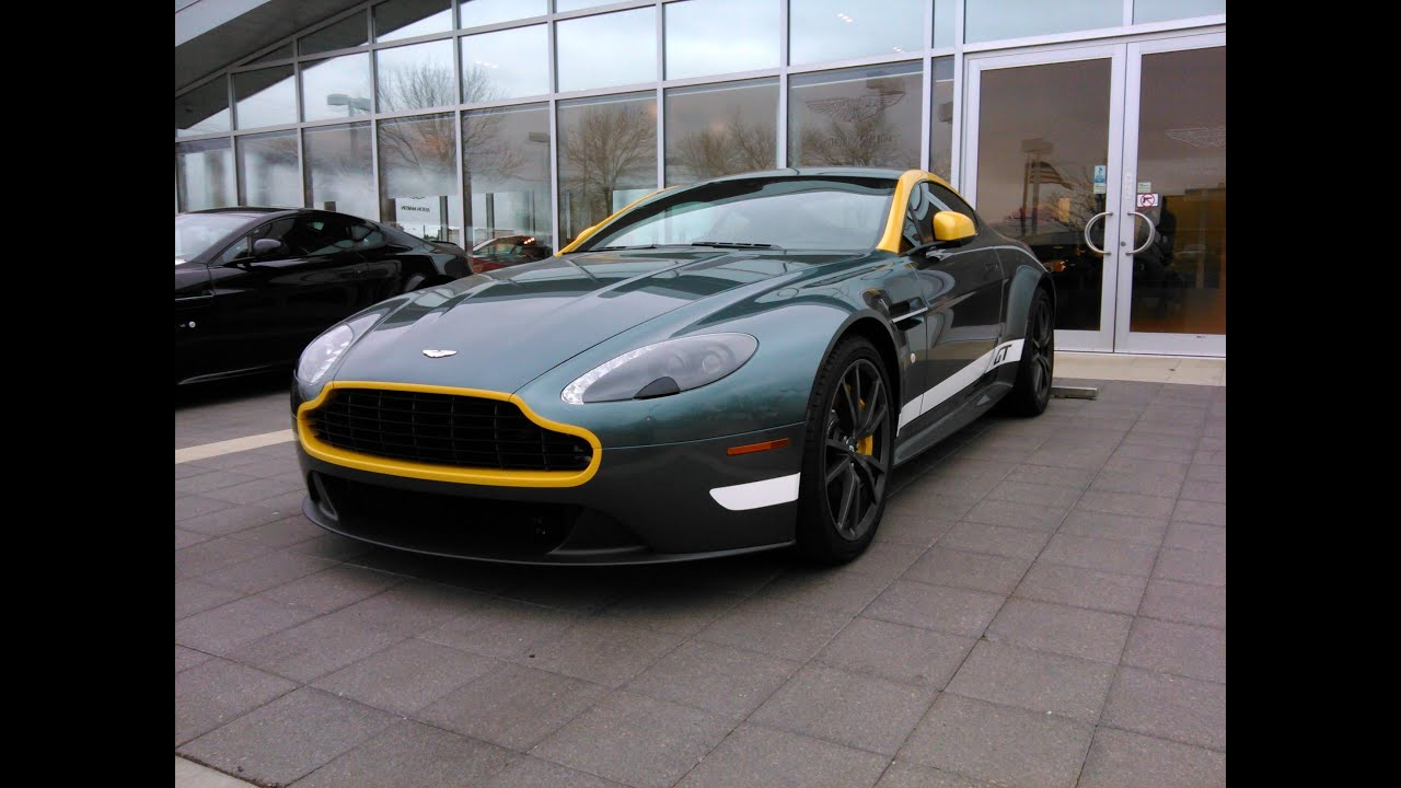 2015 Aston Martin V8 Vantage Gt Sold Youtube