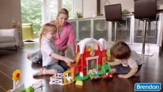 Fisher Price Little People® Animal Farm™ építőjáték