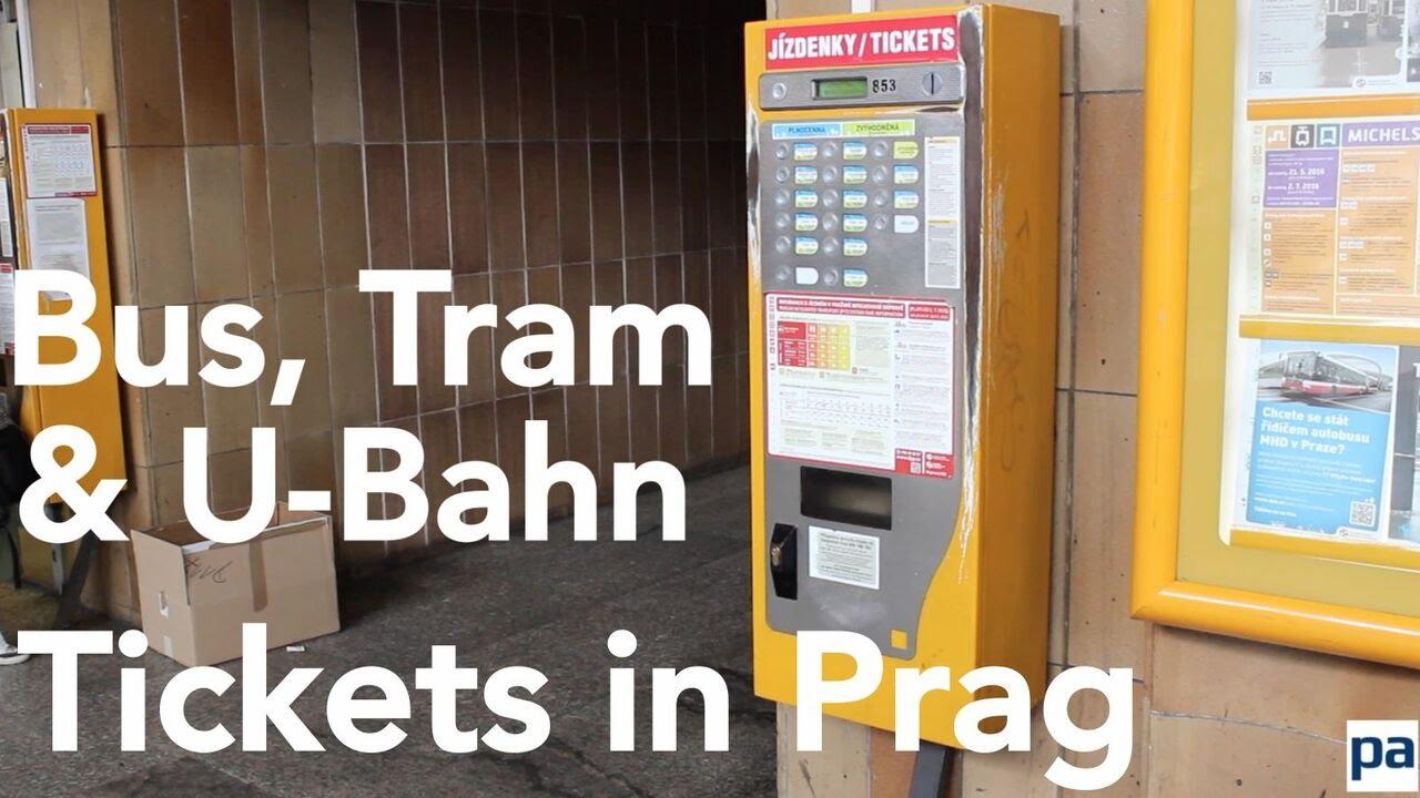 Metro Prag Karte.U Bahn Tickets Kaufen In Prag So Löst Man Fahrkarten Für Metro Und Straßenbahn