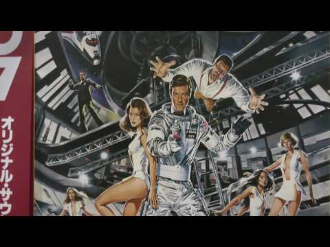 Soviet Russian (Klingon?) KORVET 038S turntable plays James Bond 007 Moonraker Soundtrack Vinyl HQ