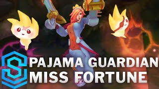 Pajama Guardian Miss Fortune Skin Spotlight - Pre-Release - League of Legends