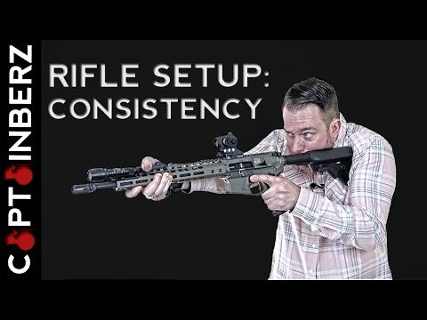 Rifle Setup: Consistency is Key (AR-15, AK-47, SCAR)
