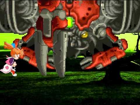Potpourri fights the Giant Crab. Additional key word: ふしぎ魔法 ファンファン・ファーマシィー.