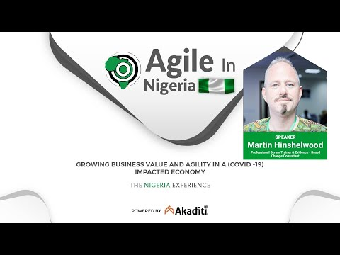 "<span class=""title"">Agile in Nigeria 2020: The Inevitability of change</span>"