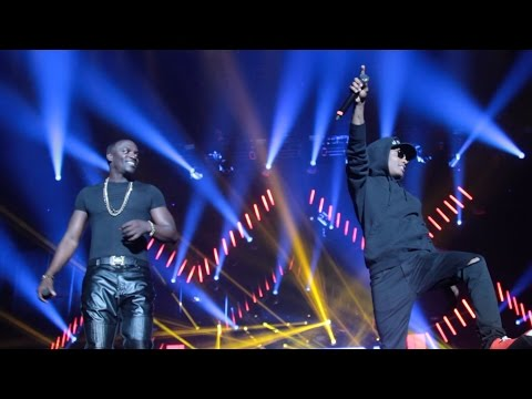 AKON Ft WIZKID (LIVE) at Wembley| PromoshinTV Exclusive