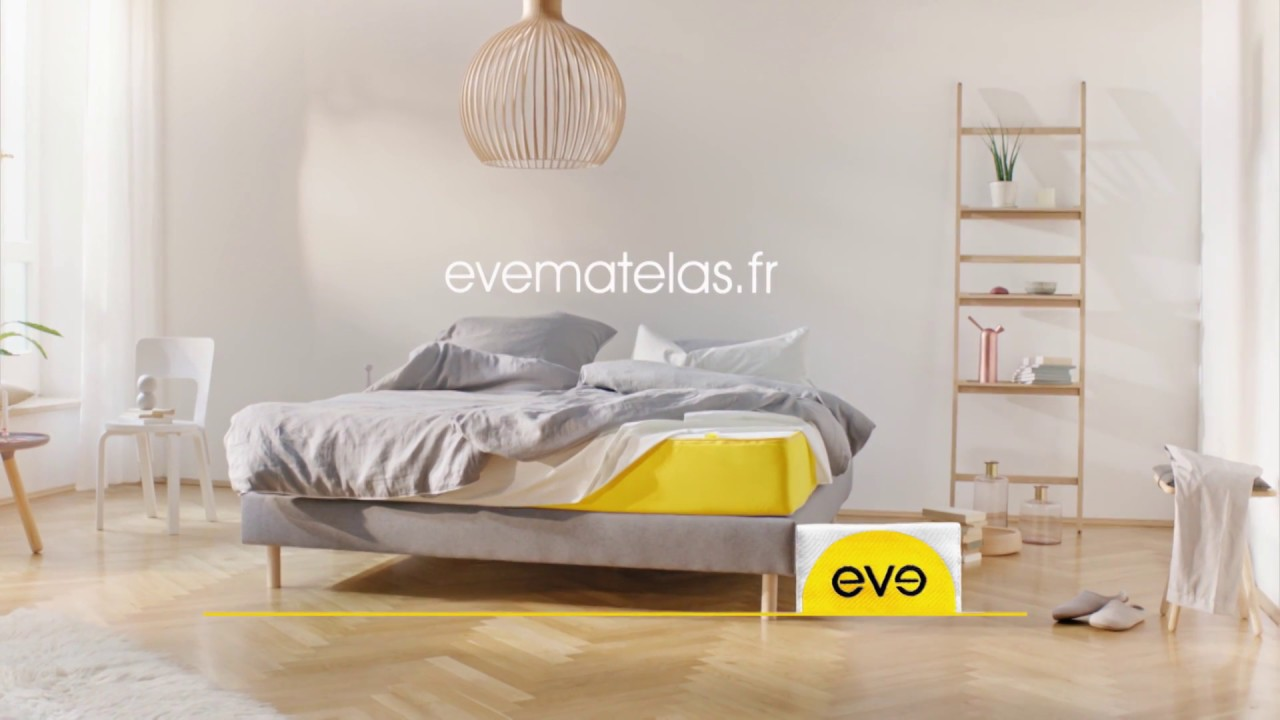 eve sleep france la pub tv youtube. Black Bedroom Furniture Sets. Home Design Ideas
