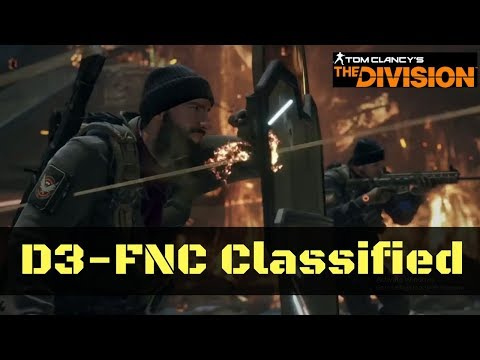 The Division D3-FNC Classified Gear Set Build PTS 1.8!