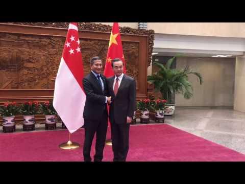 Foreign Minister Vivian Balakrishnan meets Chinese counterpart Wang Yi in Beijing