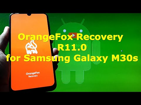 OrangeFox Recovery R11.0 for Samsung Galaxy M30s Beta Releases