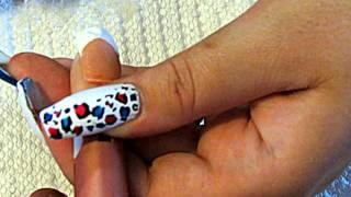 Наращивание ногтей акрилом видео