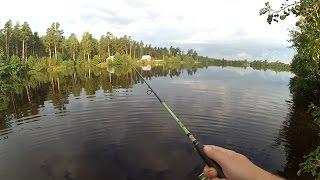 видео Летняя рыбалка на озере бисерово