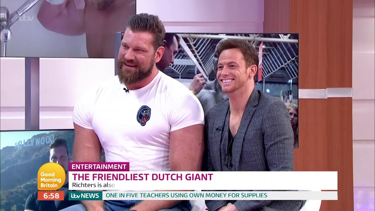 Black Widow Casts 7 2 Bodybuilder The Dutch Giant The Credits