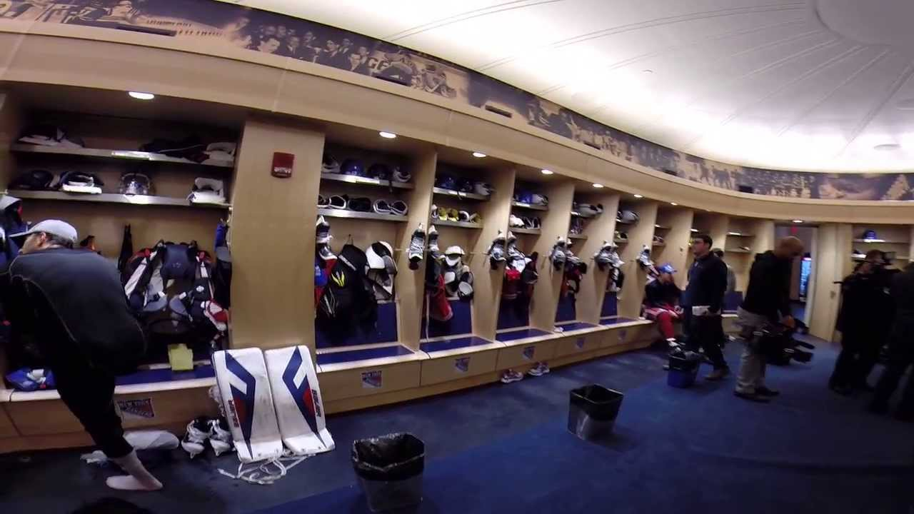 Rangers Locker Room Tour