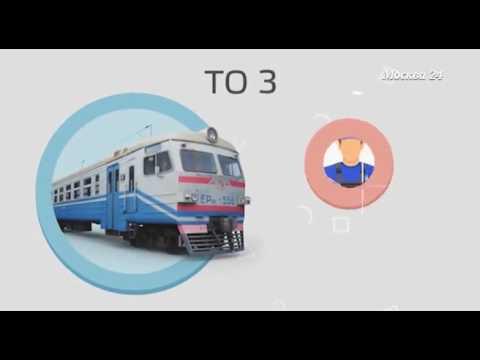 """""""Наизнанку""""  пригородные поезда"""