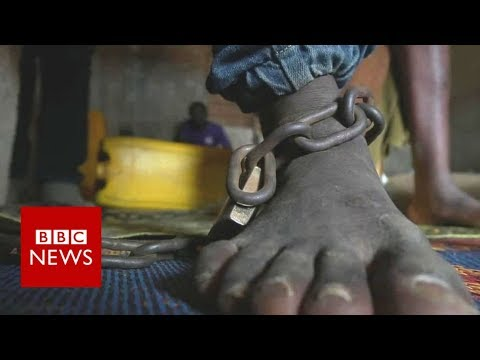 Caged while seeking mental health help - BBC News