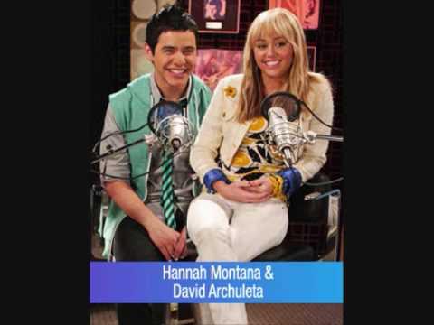 Hannah Montana And David Archuleta