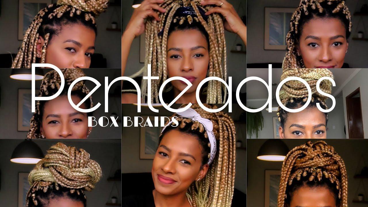 Penteados com box braids | Michele Passa