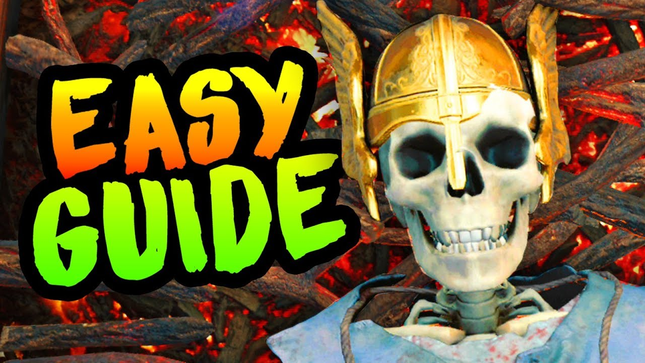 Black Ops 4 Zombies IX Easter Eggs Guide - How to Unlock All
