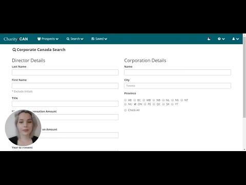 CharityCAN - Corporate Canada Search