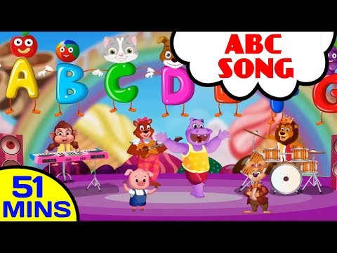 ABC Song For Kids | Best English Nursery Rhyme Collections