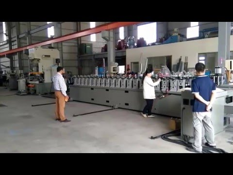 2in1 41x41 & 41x21 41*41 41*21 Slotted Strut Channel Roll Forming Machine