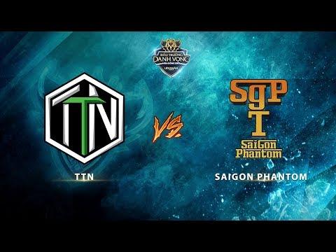 TTN vs Saigon Phantom [Vòng 4 - Ván 1] [24.09.2017]