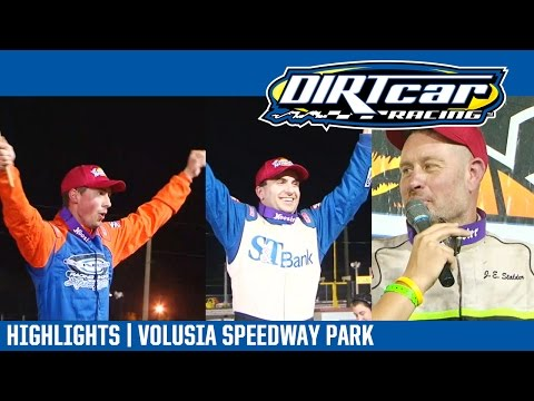 UMP Modifieds Triple 15's Volusia Speedway Park DIRTcar Nationals February 21, 2017 | HIGHLIGHTS